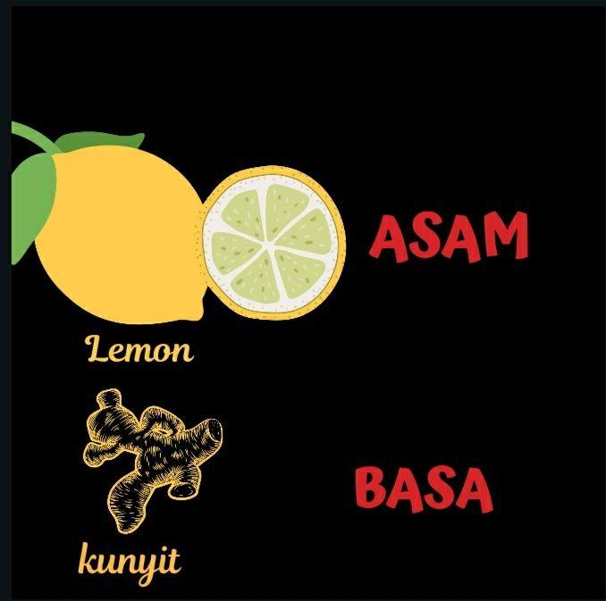 Ikustrasi contoh asam basa. Foto:irma Tri Handayani