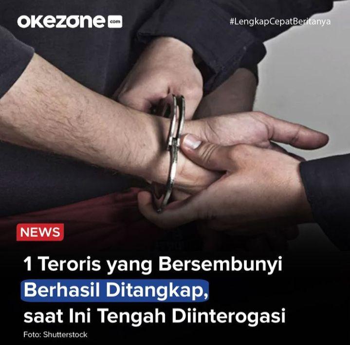 Ilustrasi teroris (dok.okezone.com)