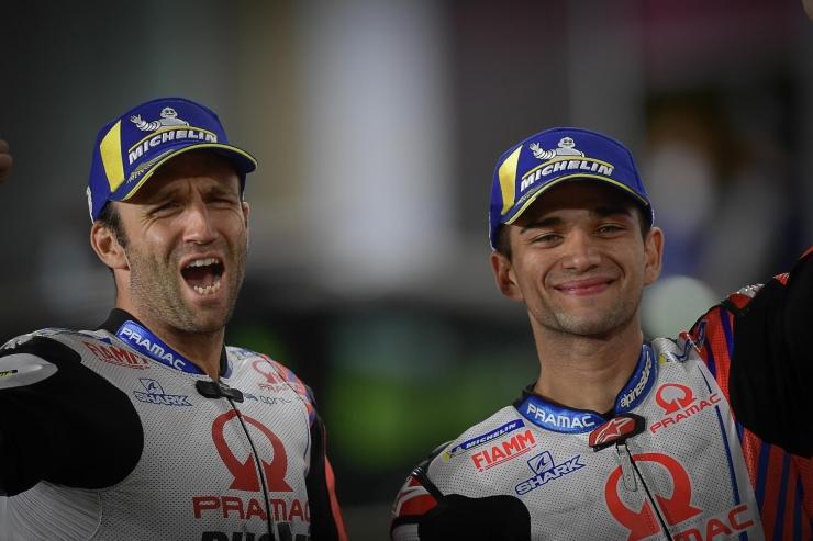 Duo rider Pramac Ducati yang tangguh di Qatar (dok.motogp.com)