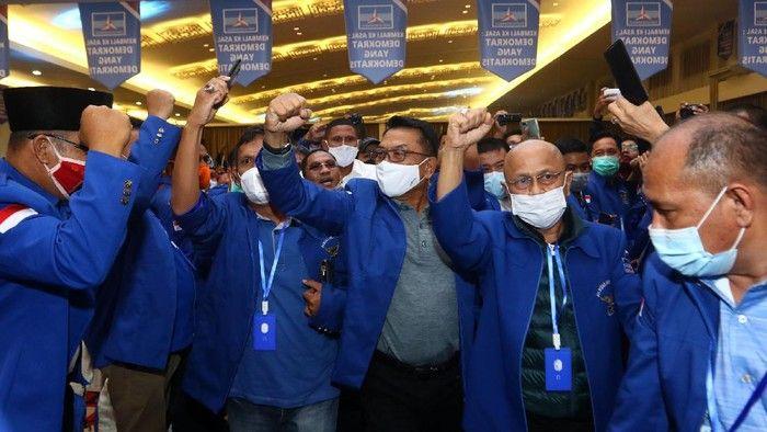 Moeldoko di antara peserta KLB Demokrat di Deli Serdang (Foto: Antara/ Endi Ahmad).