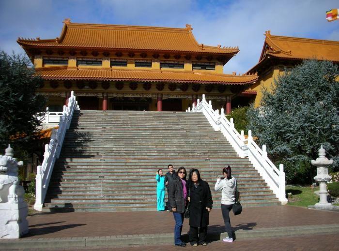 Berfoto  di Nan Tien  Temple (dok pribadi)