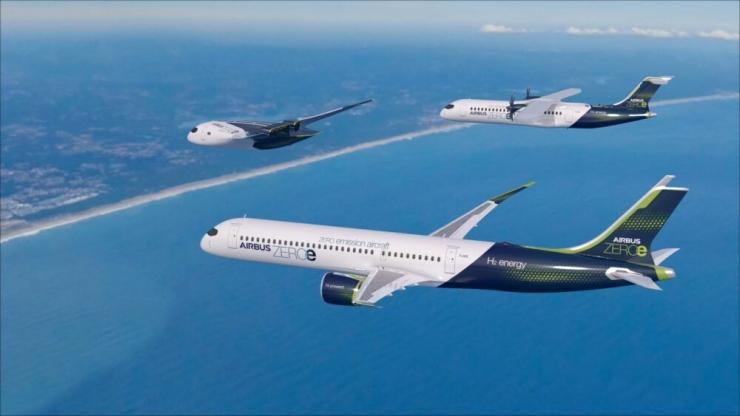 Pesawat hidrogen tahun 2030 yang ditargetkan oleh kepala eksekutif ZeroAvia dan pemerintah Inggris.Foto dari Zephrnet.com.