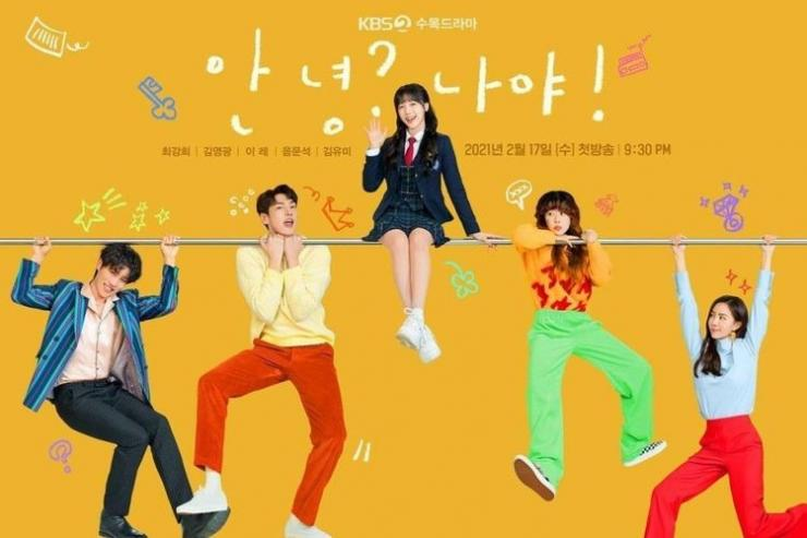 Poster drama Korea Hello, Me! (Sumber: MyDramalist via kompas.com)