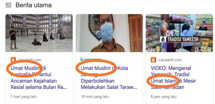 Berita Umat Muslim | google.com