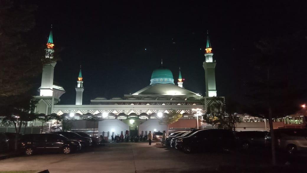 Dokumentasi Pribadi Ali Musri Syam @AMS99_Masjid Madinatul Iman Balikpapan Islamic Center