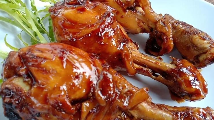 Ayam bakar spesial (Foto: dok. pribadi)