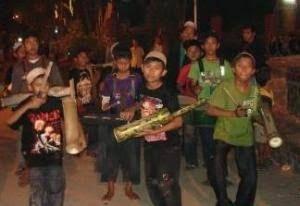 Ilustrasi musik patrol di kampung, sumber gambar: NU Online