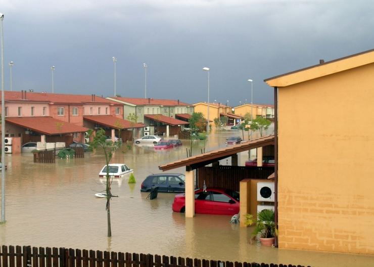 Ilustrasi Bencana Alam Banjir Foto: Pixabay.com