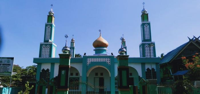 Masjid Nurul Muhammad Borongtammatea, di sinilah kecerdasan anak-anak Bortam diasah (Foto: Daeng Sibali)