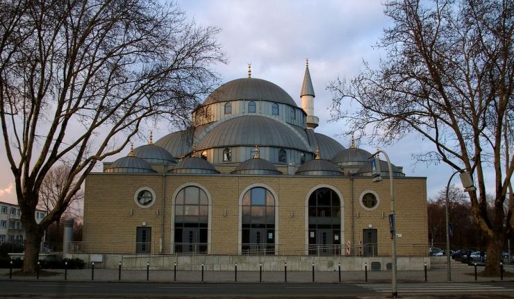 Kubah Masjid Merkez di Duisburg Jerman | foto: commons.wikimedia.org/ani—