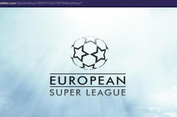 Ilustrasi European Super League. Via bolasport.com