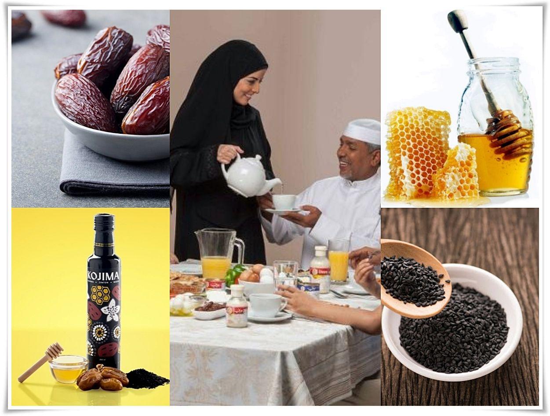 Nutrisi berbahan herbal alami yang berkualitas sangat diperlukan untuk menjaga stamina selama menjalankan puasa Ramadan (dok. Bonny, Deltomed, Healthline, honey.com/ed.WS)