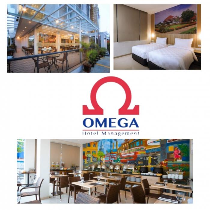 Tampilan hotel dok. Omega Hotel