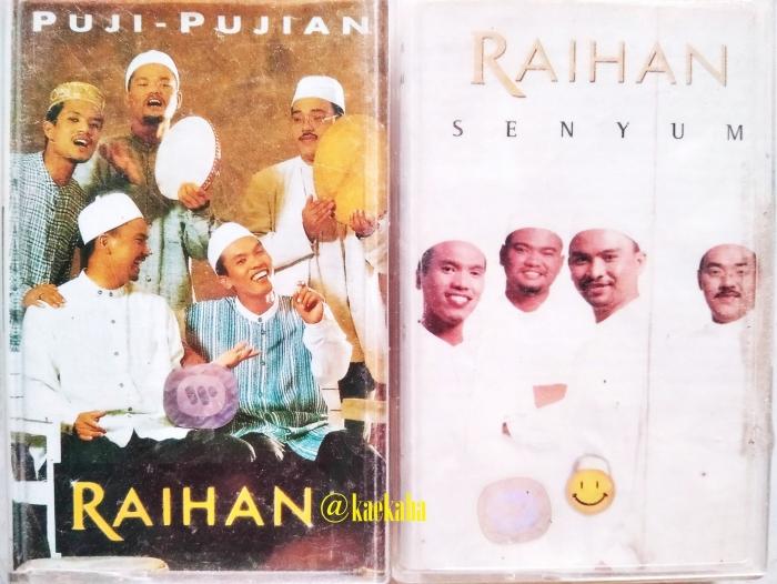 Album Pertama dan Ketiga Raihan Versi Kaset   @kaekaha