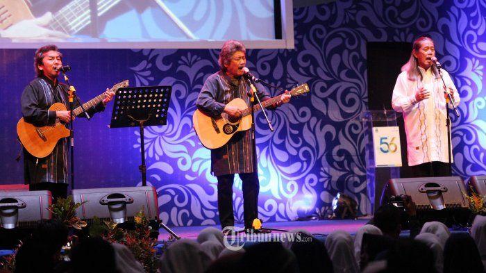 Jaka -- Sam -- Acil -- Bimbo, Grup musik legendaris asal Bandung - tribunnews.com