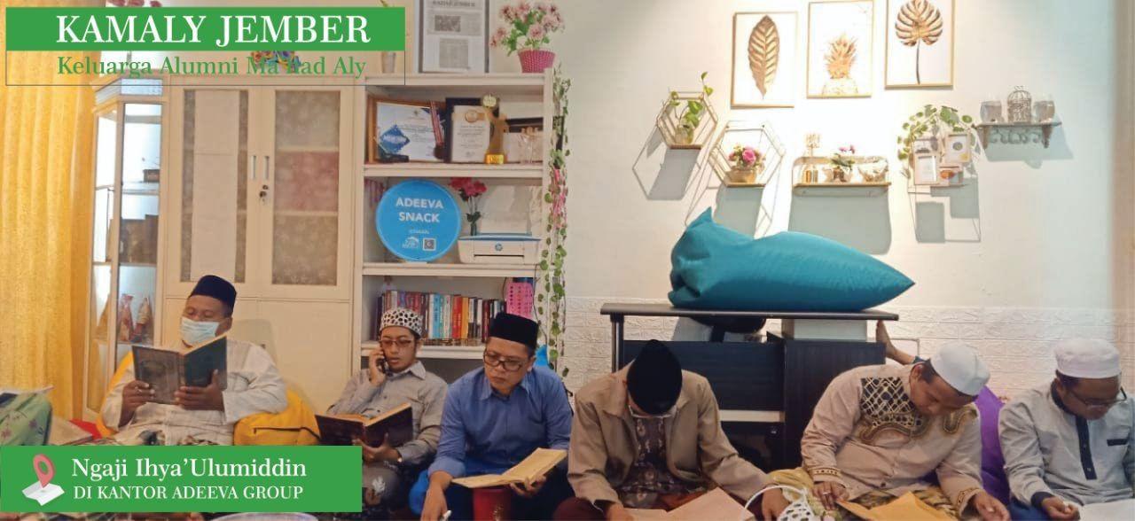 Dokumen Pribadi saat Diskusi Kitab Ihya Ulumiddin di Kantor Adeeva Group