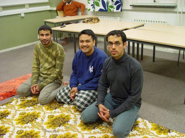 Taraweh di Sweden bersama rekan (dokpri)