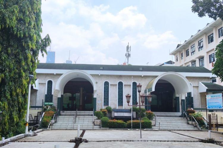 Masjid Sunda Kelapa di Menteng, Jakarta Pusat.(KOMPAS.com/Ihsanuddin)