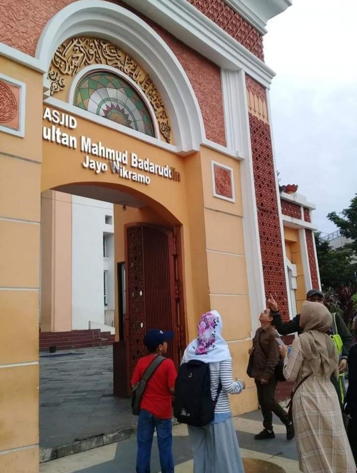 Gerbang Masjid SM Jayo Wikramo (Dok.Pribadi)