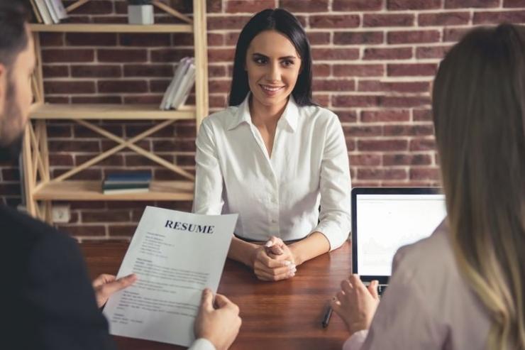 Ilustrasi wawancara kerja. Sumber: Shutterstock via Kompas.com