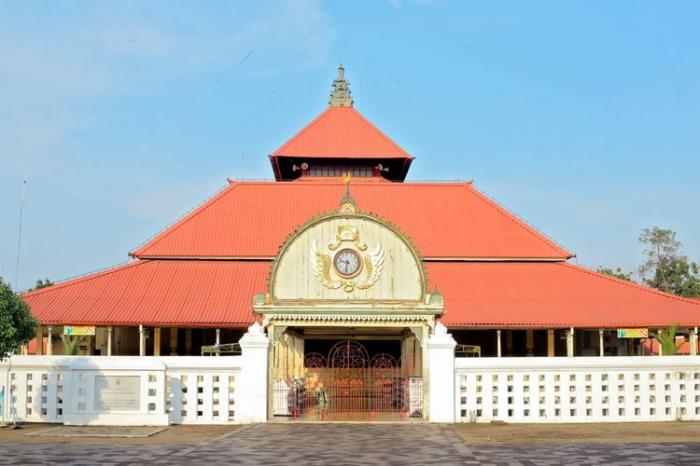Masjid Gedhe Kauman foto Kompas.com