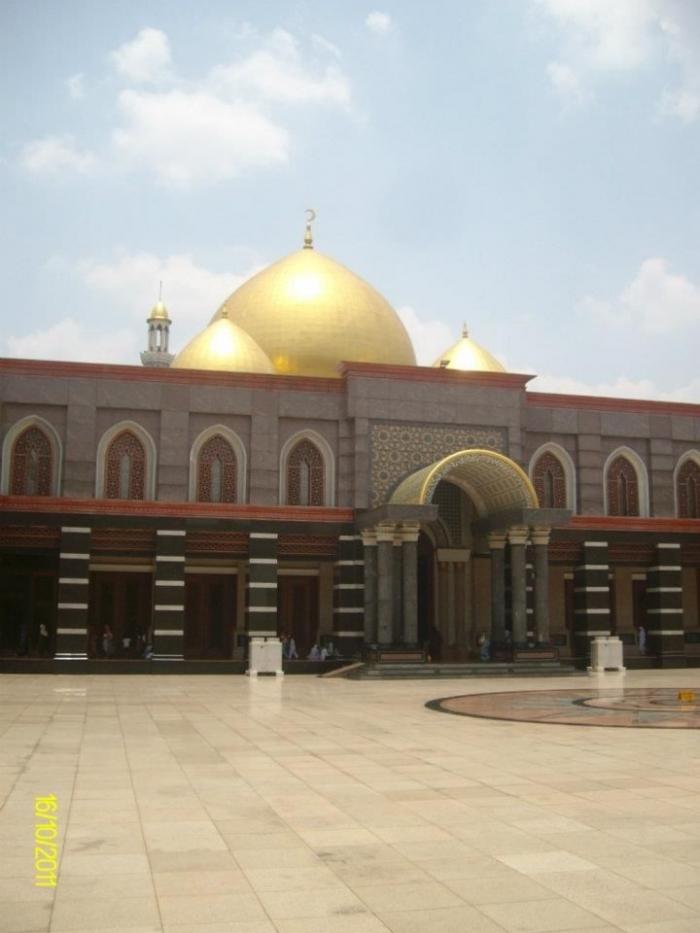 Masjid yang dari dalam maupun luar sungguh membuat kagum para pengunjung, Dokpri