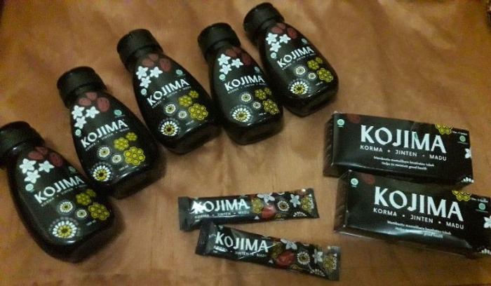 Kojima terdiri atas korma, jinten, dan madu (dokpri)