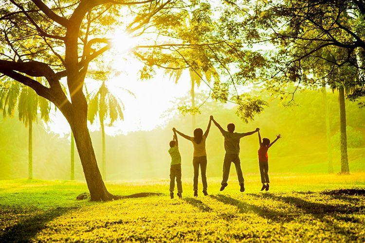 Ilustrasi Sehat dan Bahagia.(Shutterstock)