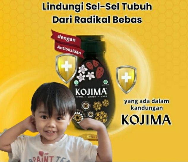 Kojima tamengnya kesehatan anak. Sumber foto : Irma Tri Handayani dikolaborasikan dengan foto akun instagram @kojima_id