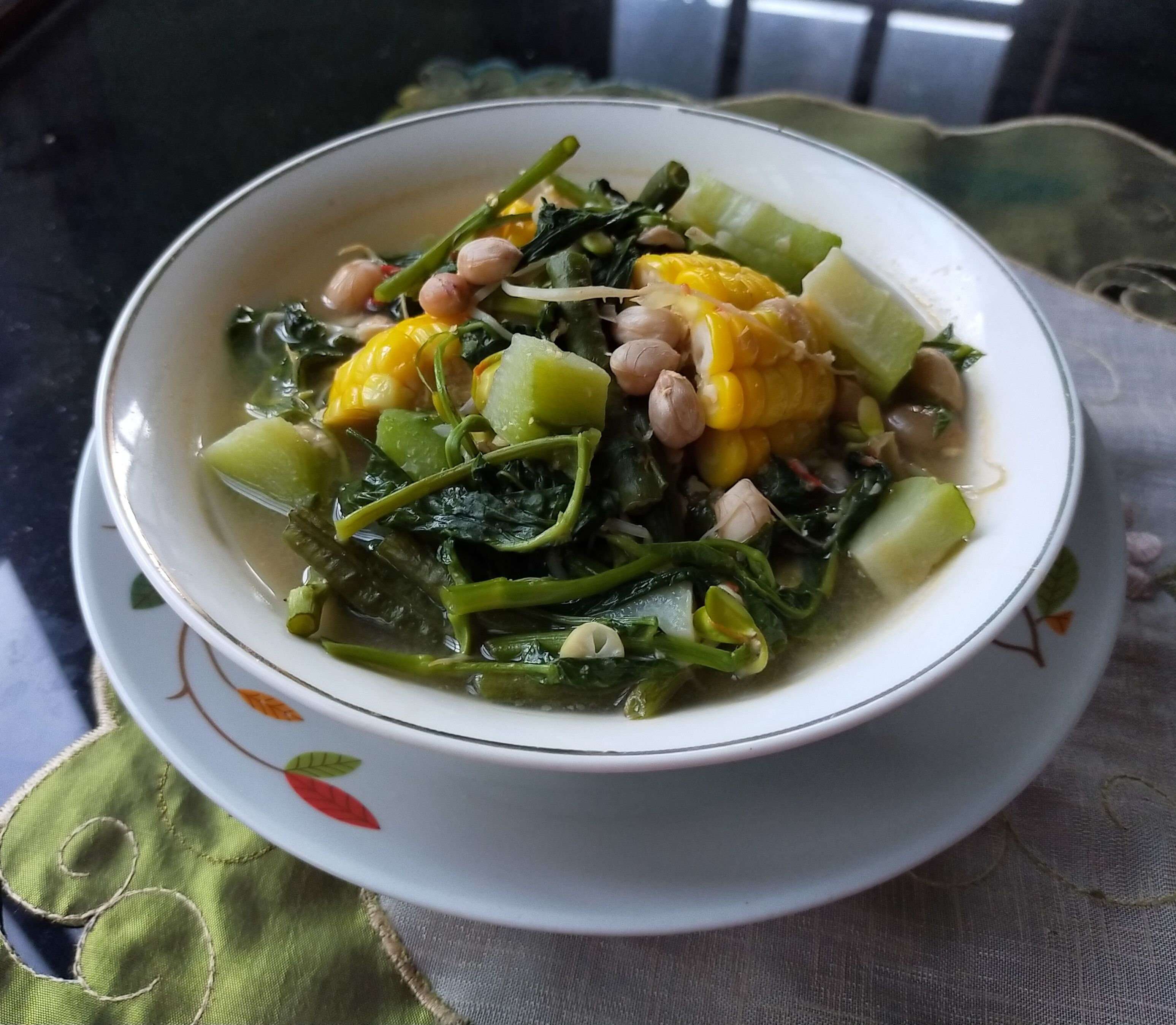 Sayur Asem yang enak dan segar   Dokumentasi Siti Nazarotin