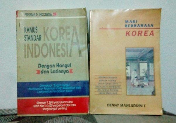 Kamus bahasa Korea (Sumber: dokumen pribadi)