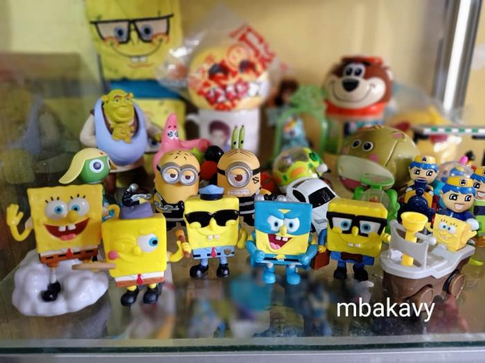 Sebagian koleksi mainan (dok.pri)