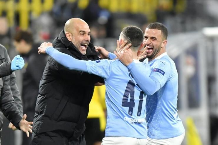 Manchester City maju ke final (republika.co.id)