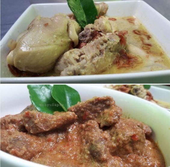 Yuk, memasak opor ayam dan rendang daging sapi, menu favorit saat lebaran. Foto: Kompasiana/Wahyu Sapta.