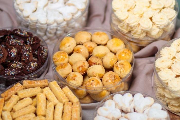 Kue kering lebaran (sumber gambar: Kompas.com/Rido Fadilah/shutterstock)