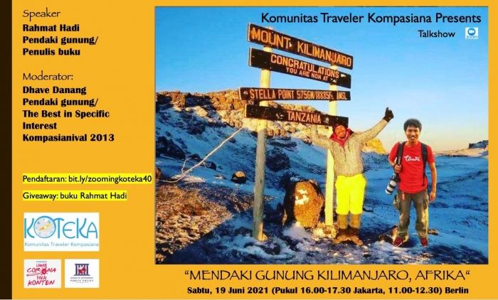 Habis dari Kilimanjaro, Afrika, kita ^^. Dokumentasi pribadi