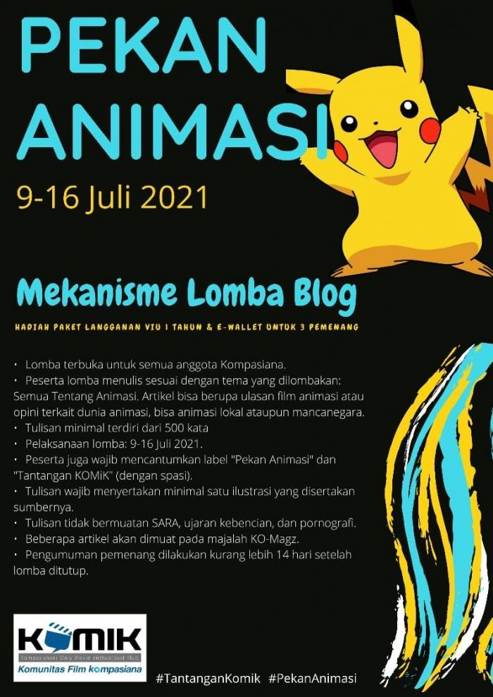 Mekanisme Lomba Blog (dok. KOMiK)