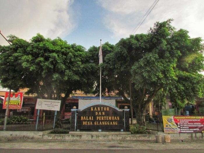 Balai Desa Glanggang (Dokumentasi Pribadi)<br />