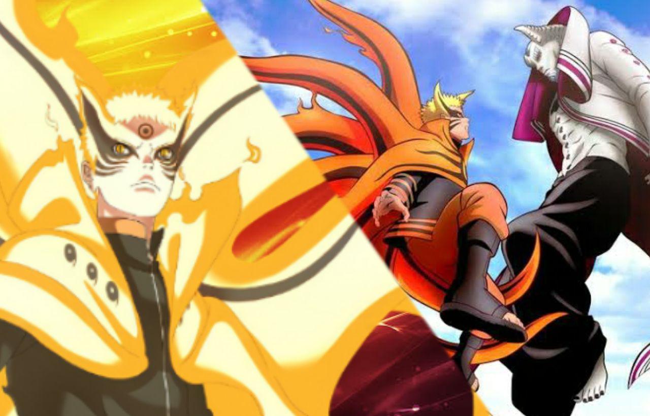 Spoiler Boruto Episode 216, Debut Naruto dengan Mode Baryon Melawan Otsutsuki Isshiki, Kurama Gugur Disini?
