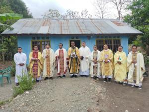 Pulang adalah Syukur, Pulang adalah Ekaristi: Pastor Ave Alupan, Pr Pulang Kampung