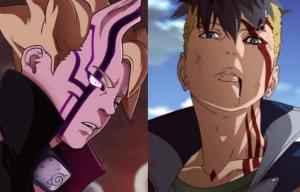 Spoiler Boruto Episode 218: Kawaki Menipu Isshiki Dengan Bunshin, Munculnya Momoshiki
