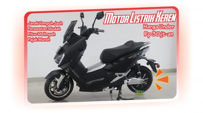 Motor listrik United T1800/dokpri