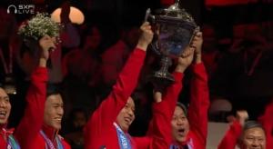 Terima Kasih Para Pangeran Merah-Putih! Setelah 19 Tahun, Piala Thomas Kembali ke Tanah Air