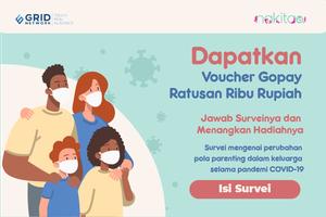 Ikut Survey! Dapatkan Voucher Go-pay