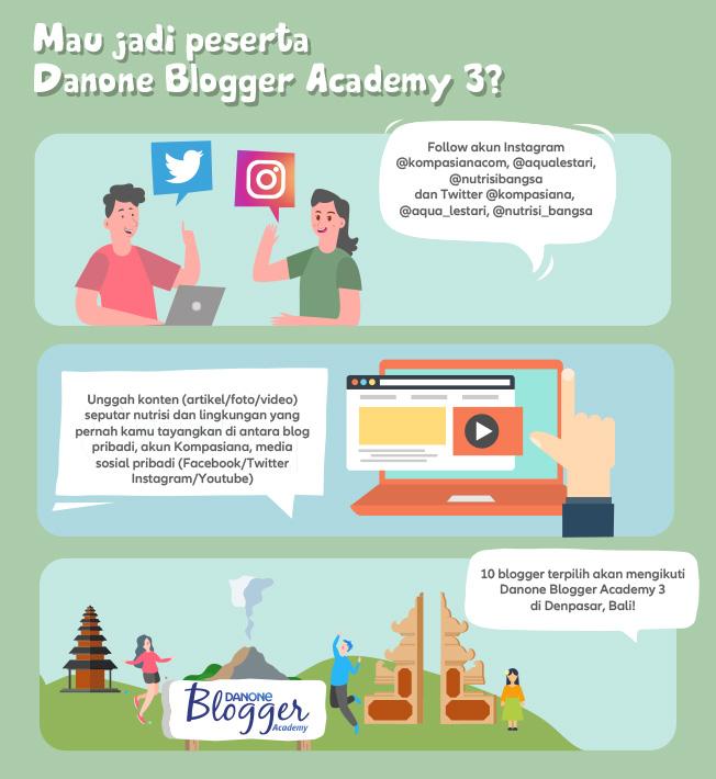 Cara Mudah Ikutan Danone Blog Academy