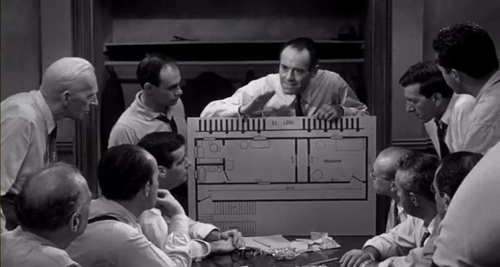 what is juror 8 premise in 12 angry men In reginald rose s 12 angry men the 8th juror is portrayed as a hero as he is the only juror to vote not guilty after the first vote ultimately this saved.