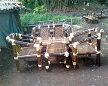 97 Gambar Kerajinan Kursi Bambu Hitam Gratis Terbaru