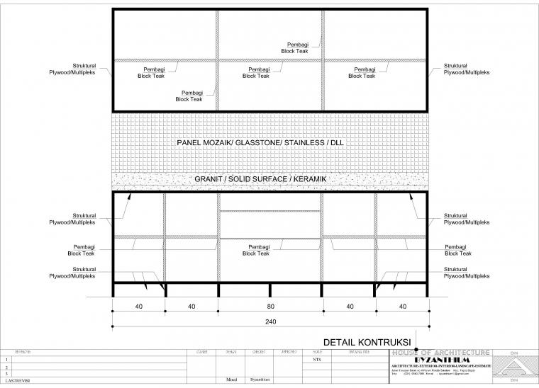 cara membuat interior dan kitchen set