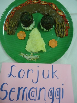Siswa Sd Di Sekolah Ciputra Surabaya Mengangkat Derajat Makanan Tradisional Surabaya Kompasiana Com