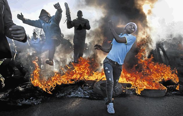 Xenophobia sedang melanda Afrika Selatan. Photo: http://www.peoplesdailyng.com/